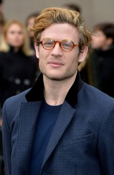 James Norton attends the Burberry Prorsum show at the London Collections: Men AW15 on January 12, 2015 in London, England.