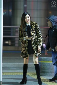 [151206] Tiffany at  Incheon Airport Heading to Singapore