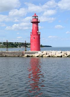 Algoma Pierhead Lighthouse - Algoma, WI