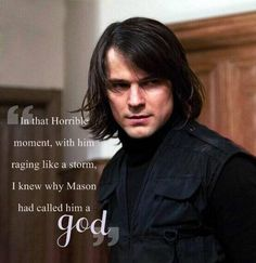 One of the few mere reasons I love Dimitri Belikov more than Edward Cullen... *swoon*