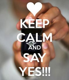 Wedding proposal ring #keep #calm