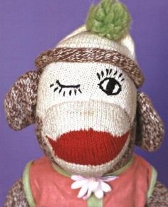 Sock Monkey Photo