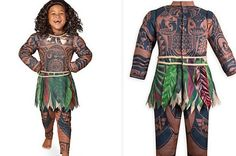 Disney is selling a full-body brown-skin costume of Maui from Moana for kids this Halloween, and people are offended.