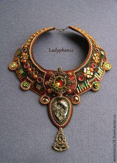Amazing beadwork necklace!