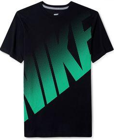 Nike Shirt, Big Dot Logo T-Shirt - T-Shirts - Men - Macy's