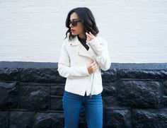 On The Side Zip Jacket    The Mint Julep Boutique https://www.shopthemint.com/products/on-the-side-zip-jacket-ivory