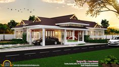 modern lake house house plans with exterior house paint gloss with modern house exterior paint design for kerala home design images Home Design Images, House Design Pictures, Kerala Traditional House, Traditional House Plans, Modern Lake House, Modern Bungalow House, Kerala House Design, Unique House Design, House Paint Exterior