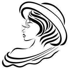 Очаровательная леди в летней шляпе с открытым плечом — стоковое изображение Summer Hats For Women, Stained Glass, Stock Photos, Lady, Projects, Log Projects, Blue Prints, Stained Glass Panels, Leaded Glass