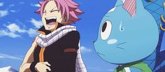 I find it so cute that Natsu finds Lucy amusing Natsu Fairy Tail, Fairy Tail Funny, Fairy Tail Love, Fairy Tail Anime, Erza Scarlet, Weekly Shonen Magazine, Natsu And Lucy, Female Knight, Fairy Tail Guild