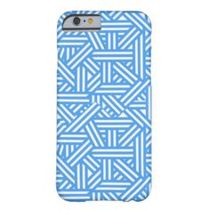 Blue Lines Barely There iPhone 6 Case