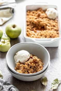 ) - Cooking for Keeps Simple Apple Crisp Ingredients!) - Cooking for Keeps Apple Crisp Easy, Apple Crisp Recipes, Tart Recipes, Cooking Recipes, Small Batch Apple Crisp Recipe, Dessert Recipes, Cooking Ideas, Free Recipes, Vegan Recipes