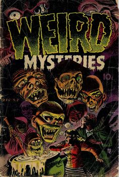 Comic Book Cover For Weird Mysteries v1 #2