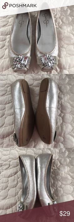 Jessica Simpson flats Like new condition, leather upper. Jessica Simpson Shoes Flats & Loafers