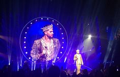 @BasiaMcAuley  ·  Aug 29 Queen concert in Melbourne with @ adamlambert @QueenWillRock   Damn that boy can sing!  Awesome!