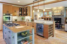 eco friendly kitchen.