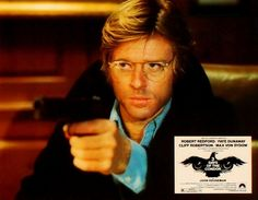 Robert Redford in 3 Days of the Condor (1975)   Saw it more times than fingers on both hands