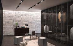 Glass - hanging door | Design: Centro Ricerca Jesse