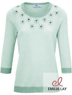 Femininer Rundhals-Pullover von Peter Hahn. Jetzt shoppen!