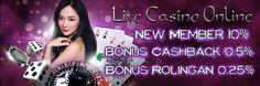 Agen Casino Live Terbaik - Agen Casino Live Terbaik Kingbola99 memberikan kenikmatan pelayanan sellama 24 jam dan memberikan bonus new member sebesar 10%