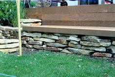 Granit Mauerplatten aus weisslich-gelbem Naturstein - Mauersteine - Mst-00033-04_04 - Steinbruch Huber