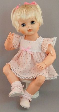 Baby Dollikin - Uneeda Doll I would have loved to have her! My doll had the same face but was not jointed.