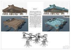 конкурс: архитектура, 5 эт | 15м, готический, 1000 - 3000 м2, каркас - металл, здание, строение, база отдыха #architecture #5fl_15m #gothic #1000_3000m2 #frame_metal #highrisebuilding #structure #recreationcenter arXip.com