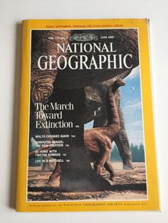 National Geographic Magazine June 1989 Map June Extinction Malta Tibetan Nomads