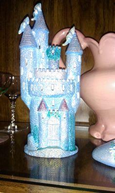 Enchanted Castle painted ceramic by emyliastone on Etsy, $24.99
