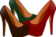 Vector illustration of female high heel shoes. Color drawing of three different colored shoes with high heels. Strap Heels, Ankle Strap, High Heels Stilettos, Shoes Heels, Shoes Vector, Colorful Shoes, Comfortable Sneakers, Alcohol, Shoe Shop