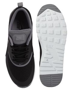Enlarge Nike Air Max Thea Black Trainers