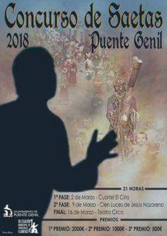 🎶Concurso de Saetas #PuenteGenil2018 Inscripción hasta 14 de febrero, más información ➡️ http://bit.ly/2ns5zsM