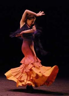 María Pagés, 44, is one of Spain's leading flamenco dancers, famous for her long, expressive arms and her warm, charismatic stage presence.