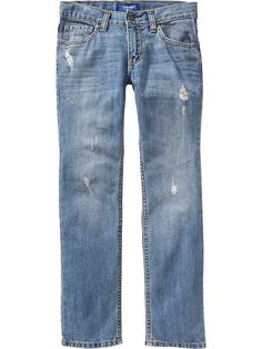 Boys Distressed Skinny Jeans Product Image