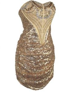 i love this sparkly sequined gold prom dresses for junior prom party teens