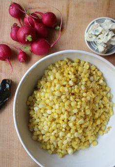 summer salad series + zesty corn salad — The Crunchy Radish