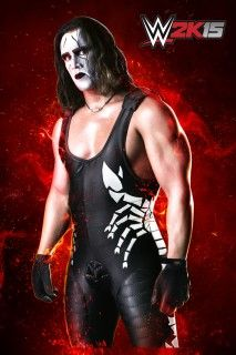 Photos: 2K Sports Reveals First Sting Artwork from the WWE 2K15 Video Game