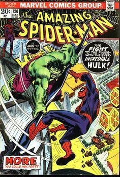 Amazing Spider-Man #120. The Hulk.  #SpiderMan #Hulk