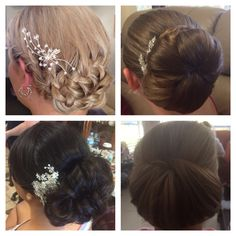 One of our stunning bridal parties. hair by Wye cosmetics  Hair & Makeup enquiries :  Weddings@wyecosmetics.com.au 1300 993 267