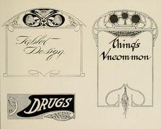 1917 - Strong's book of designs -  a masterpiece of modern ornamental art