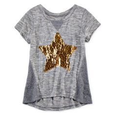 Total Girl® Short-Sleeve Sequin Tee - Girls 7-16  found at @JCPenney