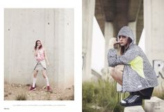 Sport is chic! Albert Ruso pictures styled by Klara Morante.