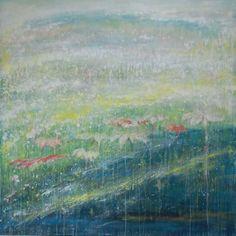 「まばたきのま」 キャンバス 油彩