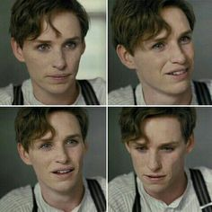 I just saw this movie yesterday & he should've won the Oscar. He was beautiful... The Danish Girl