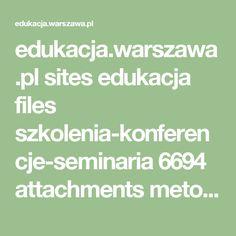 edukacja.warszawa.pl sites edukacja files szkolenia-konferencje-seminaria 6694 attachments metody_i_techniki_pracy_w_grupie_z_dzieckiem_z_wysoko_funkcjonujacym_autyzmem.pdf