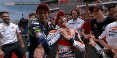 Valentino Rossi  Marc Marquez Catalunya 2014, http://www.daidegasforum.com/forum/foto-video/561403-motogp-gif-animate.html