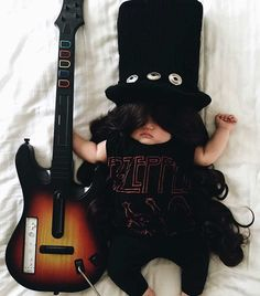 Laura Izumikawa Dresses Her Napping Baby in Cosplay Outfits #inspiration #photography