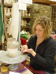 Potters - Mary Pratt - Ephraim Faience Pottery (2004 - 2009 aka their best years!)