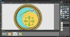 How to make a digiscrap safety pin look real in Photoshop Elements.