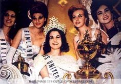 1962 Miss Universe Beauty Pageant Miami Beach Convention Hall Auditorium Miami Beach, Florida, USA July 14 Host & Hostess: Dave Garroway . Miss Universe Swimsuit, Miss Universe Crown, Diva Quotes, Beautiful Inside And Out, Beauty Pageant, Beauty Queens, Celebrities, Pageants, Brazil