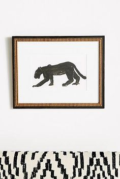 22ba0e77e Panther Walking Wall Art Animal Decor, Home Trends, Unique Art, Panther,  Home